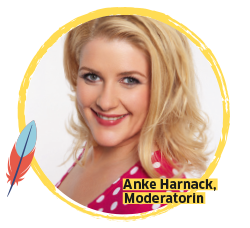 BUDNIANER HILFE Botschafterin Anke Harnack, Moderatorin