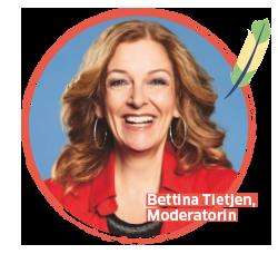 BUDNIANER HILFE Botschafterin Bettina Tietjen, Moderatorin