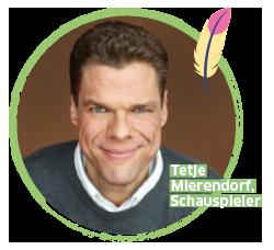 BUDNIANER HILFE Botschafter Tetje Mierendorf, Schauspieler